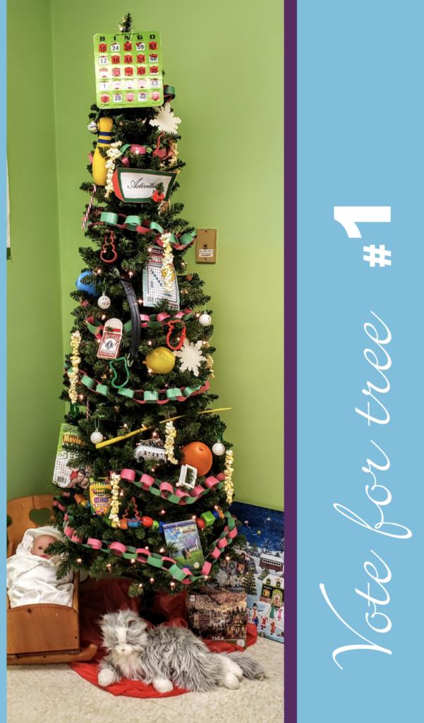 Staff Christmas Tree Contest | Ketcham Memorial Center